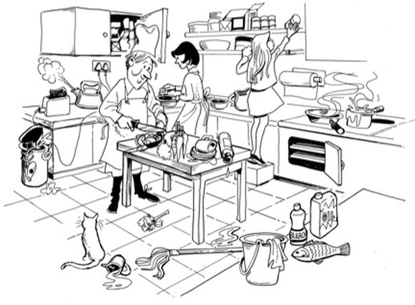 Safety Search - Kitchen Safety